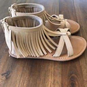 Gap Girls Fringe Sandals